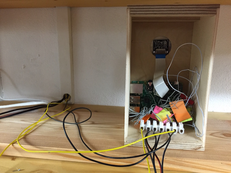 RPi garage door controller
